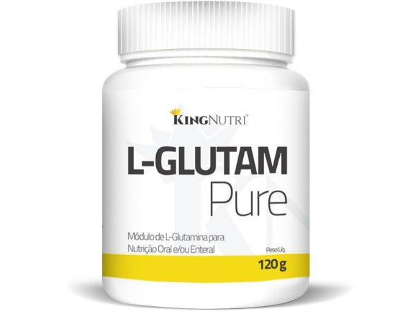 L-Glutam Pure - 120g - King Nutri