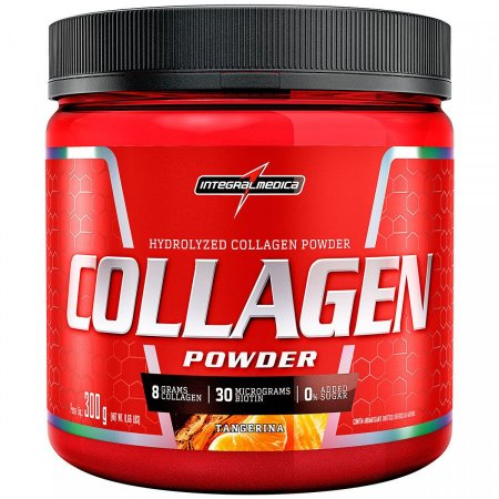 Collagen Powder - 300g - Tangerina - Integralmédica