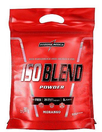 ISO Blend - 907g - Morango - Integralmédica