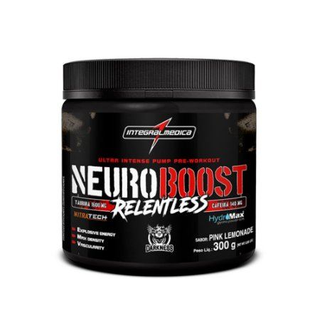 Neuroboost Relentless - 300g - Pink Lemonade - Integralmédica