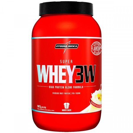 Super Whey 3W - 907g - Baunilha - Integralmédica