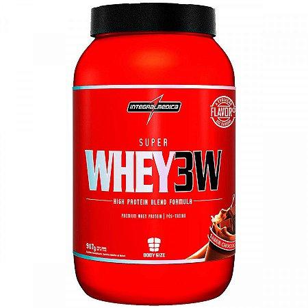 Super Whey 3W - 907g - Chocolate - Integralmédica