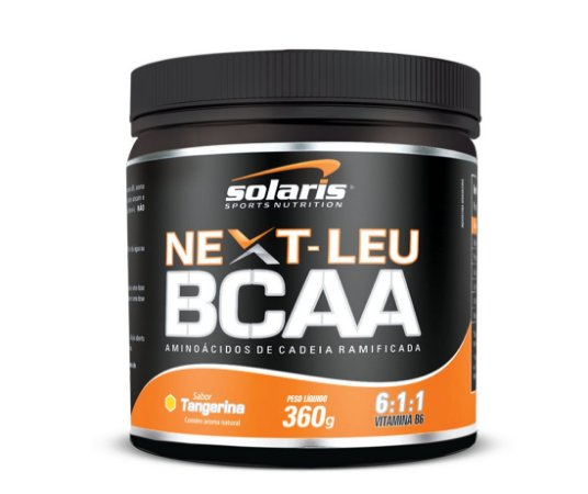 NEXT-LEU BCAA 6:1:1 - 360g - Tangerina - Solaris Nutrition