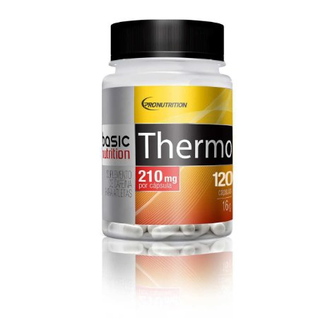 Thermo - 120 cápsulas - Basic Nutrition