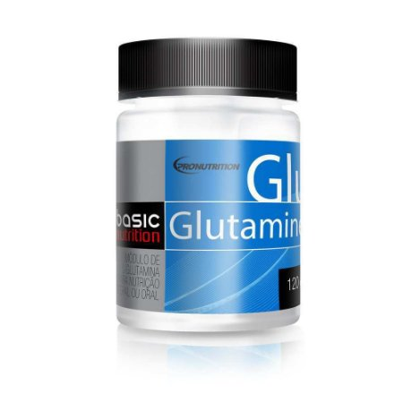 Glutamine - 120g - Basic Nutrition