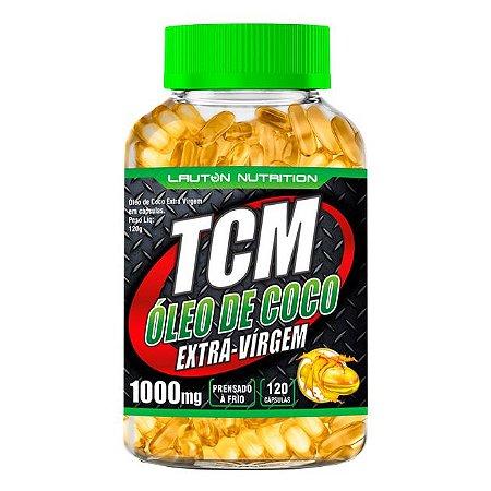 TCM Óleo de Coco Extravirgem - 120 cápsulas - Lauton Nutrition
