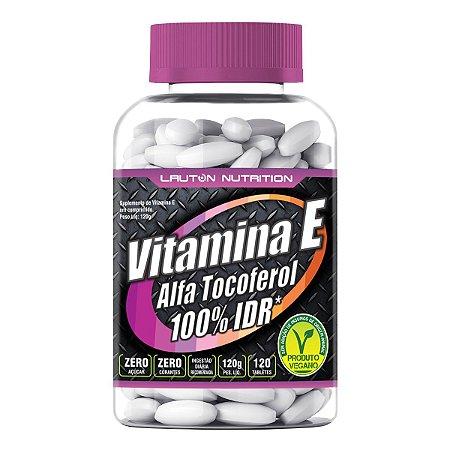 Vitamina E (Alfa Tocoferol) - 120 tabletes - Lauton Nutrition