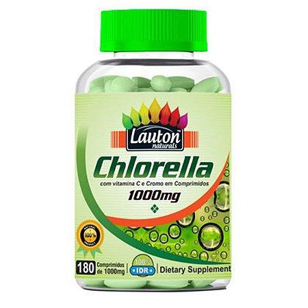 Chlorella - 180 comprimidos - Lauton Naturals