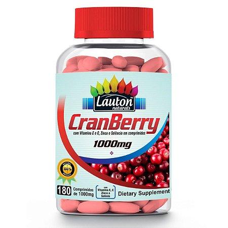 CranBerry - 180 comprimidos - Lauton Naturals