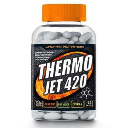 THERMO JET 420 - 120 tabletes - Lauton Nutrition