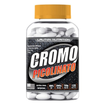 Cromo Picolinato - 120 tabletes - Lauton Nutrition