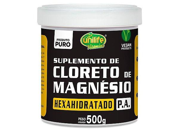 Cloreto de Magnésio Hexahidratado P.A. - 500g - Unilife Vitamins