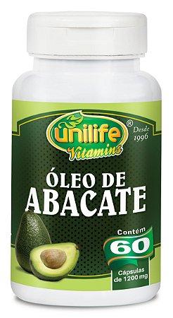 Óleo de Abacate - 60 cápsulas - Unilife Vitamins