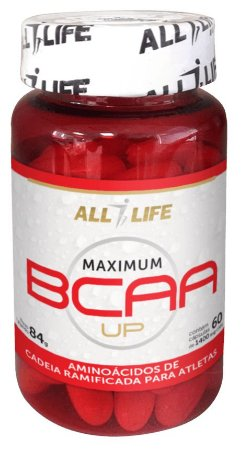 Maximum BCAA UP - 60 cápsulas - All Life Nutry