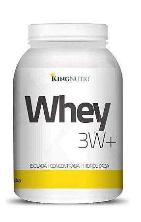 Whey 3W+ - 908g - Baunilha - King Nutri