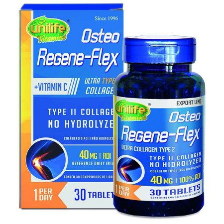 Osteo Regene-Flex - 30 tabletes - Unilife Vitamins