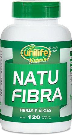 Natu Fibra - 120 cápsulas - Unilife Vitamins