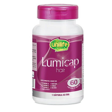 Lumicap Hair - 60 cápsulas - Unilife Vitamins