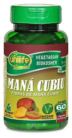 Maná Cubiu - 60 cápsulas - Unilife Vitamins