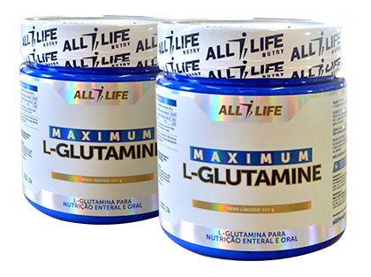 Maximum L-Glutamine - 300g - All Life Nutry