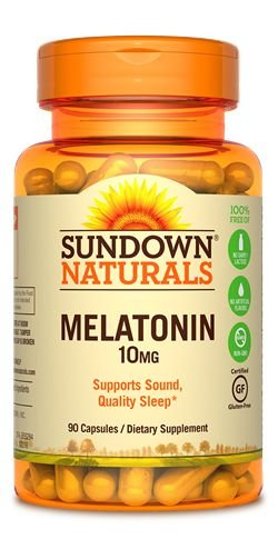 Melatonin 10 mg - 90 cápsulas - Sundown Naturals