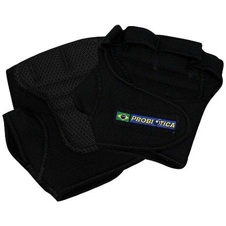 Luva Esportiva Rubber - Preto - Tamanho P - Probiótica