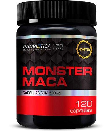 Monster Maca - 120 cápsulas - Probiótica