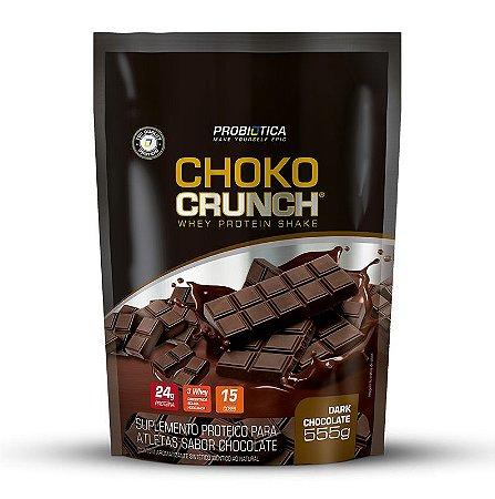 Choko Crunch Shake - 555g - Dark chocolate - Probiótica