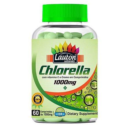 Chlorella - 60 comprimidos - Lauton Naturals