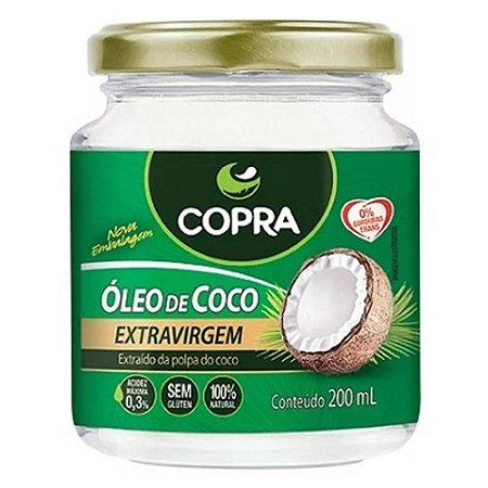 Óleo de Coco Extravirgem - 200 ml - Copra Alimentos