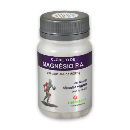Cloreto de Magnésio P.A. - 60 cápsulas - Meissen
