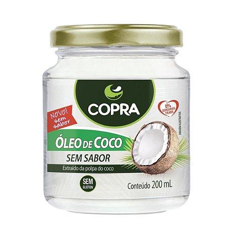 Óleo de Coco Sem Sabor - 200 ml - Copra Alimentos