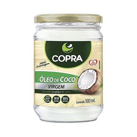 Óleo de Coco Virgem - 500 ml - Copra Alimentos