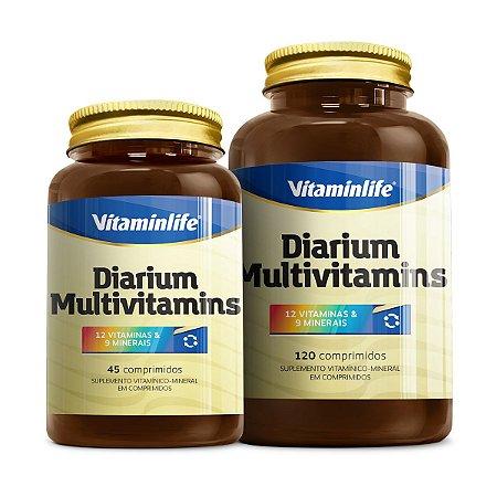 Diarium Multivitamins - 120 comprimidos - VitaminLife