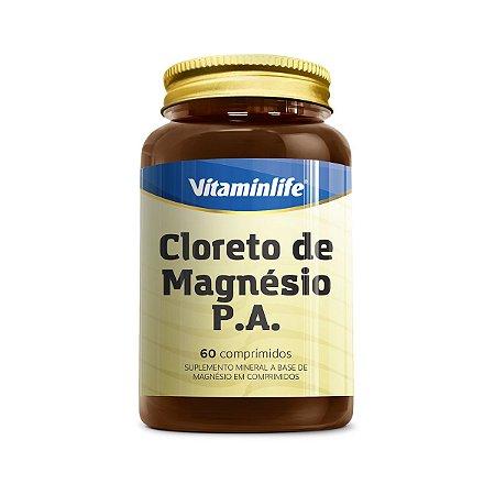 Cloreto de Magnésio P.A. - 60 comprimidos - VitaminLife