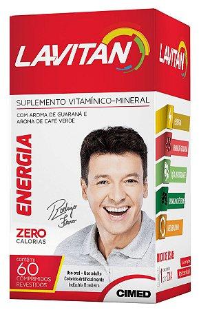 Energia - 60 comprimidos - Lavitan Vitaminas