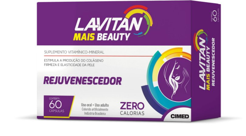 Rejuvenescedor - 60 cápsulas - Lavitan Vitaminas