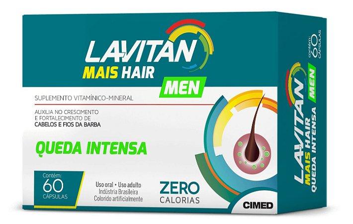 Queda Intensa - 60 cápsulas - Lavitan Vitaminas