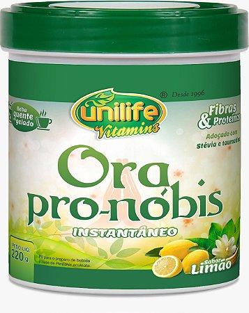 Ora Pro-nóbis - 220g - Limão - Unilife Vitamins