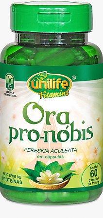 Ora Pro-nóbis - 60 cápsulas - Unilife Vitamins
