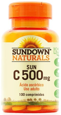 Sun C 500mg - 100 comprimidos - Sundown Naturals