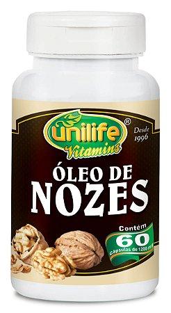 Óleo de Nozes - 60 cápsulas - Unilife Vitamins