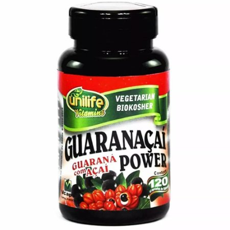 Guaranaçaí Power - 120 cápsulas - Unilife Vitamins
