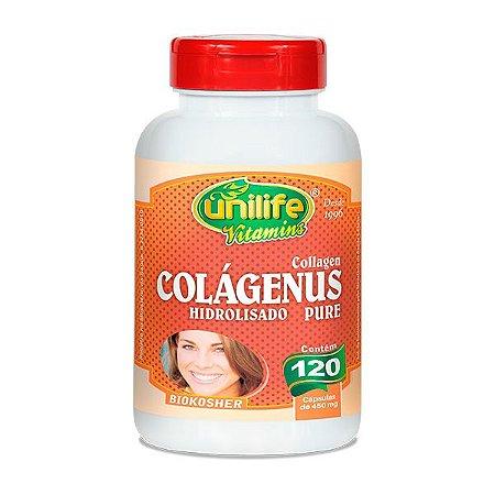 Colágenus Hidrolisado Pure - 120 cápsulas - Unilife Vitamins