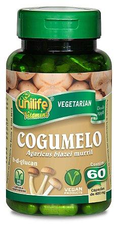 Cogumelo Agaricus Blazei - 60 cápsulas - Unilife Vitamins