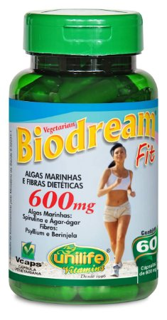 Biodream Fit - 60 cápsulas - Unilife Vitamins
