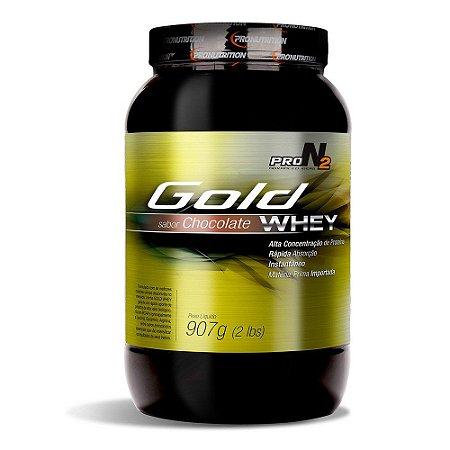 Gold Whey - 900g - Chocolate - ProN2