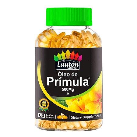 Óleo de Prímula 500mg - 60 cápsulas - Lauton Naturals