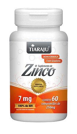 Zinco - 60 comprimidos - Tiaraju
