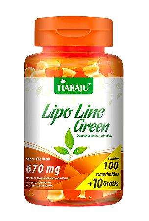 Lipo Line Green - 100+10 cápsulas - Tiaraju